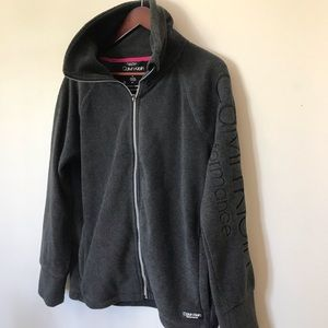 Calvin Klein Zippered Fleece, Sz. M